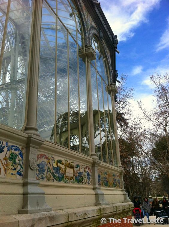 #Cristal #Palace in the famous #Retiro #Park in #Madrid