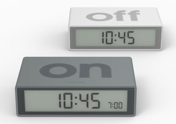 core77 11 alarm clocks for starting the day right. Black Bedroom Furniture Sets. Home Design Ideas