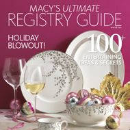 Confused about what to register for? Check out Macy's Ultimate Registry Guide.  #SwansonDiamondCenter