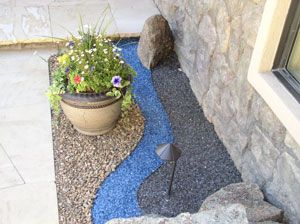 Adding color to landscaping now i know what to do with for Landscaping rocks for aquarium