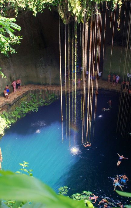 #Cenote - #Mexico http://en.directrooms.com/hotels/country/7-88/