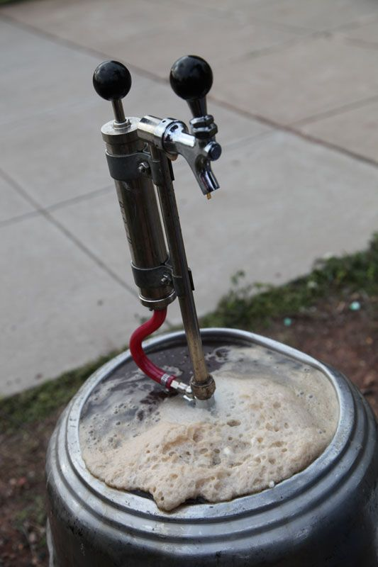 Root beer keg!  Had one of these at My Graduation Open House it was So Cool :)