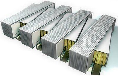 container - Construções Geminadas: