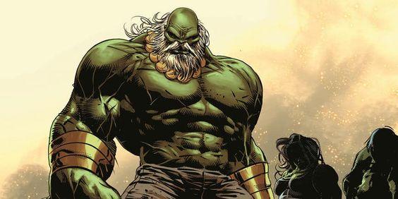 Hulk hero going bad