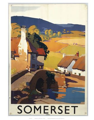 Somerset on VintageRailPosters.co.uk Prints