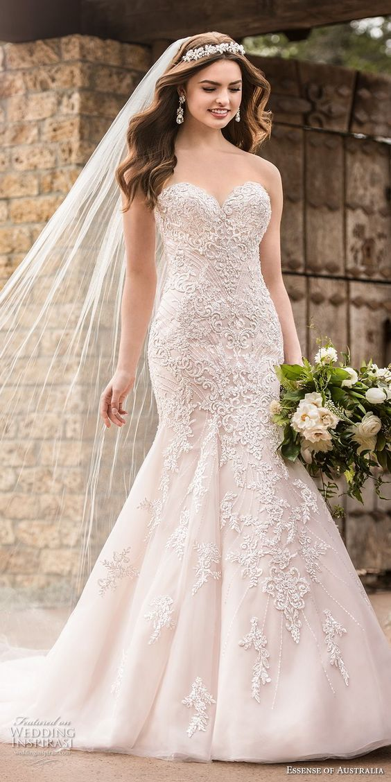 elegant, romantic lace gowns