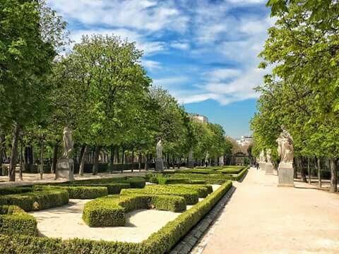 Parque del retiro d Madrid