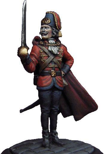 capitán de la guardia - Los Patricios (http://www.vesper-on.com)