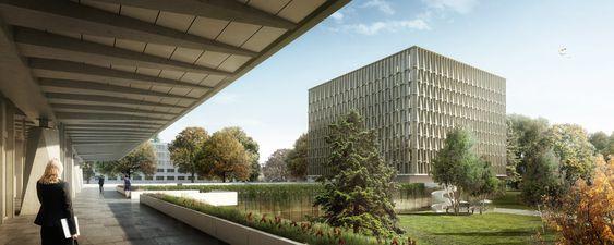 Galeria - Berrel Berrel Kräutler vence concurso para a sede da WHO em Genebra - 2