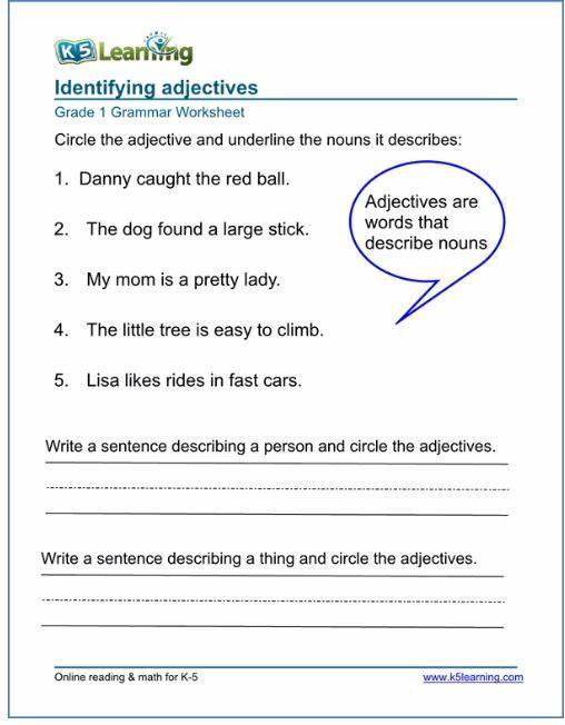 Pin By Charissa Venter On Teacher Adjective Worksheet Grammar Worksheets 2nd Grade Worksheets