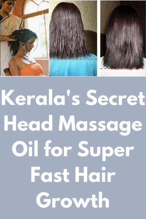 Kerala S Secret Head Massage Oil For Super Fast Hair Growth With
