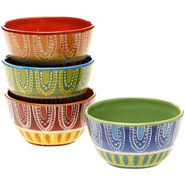 Tapas Set of 4 Ice Cream Bowls - JCPenney