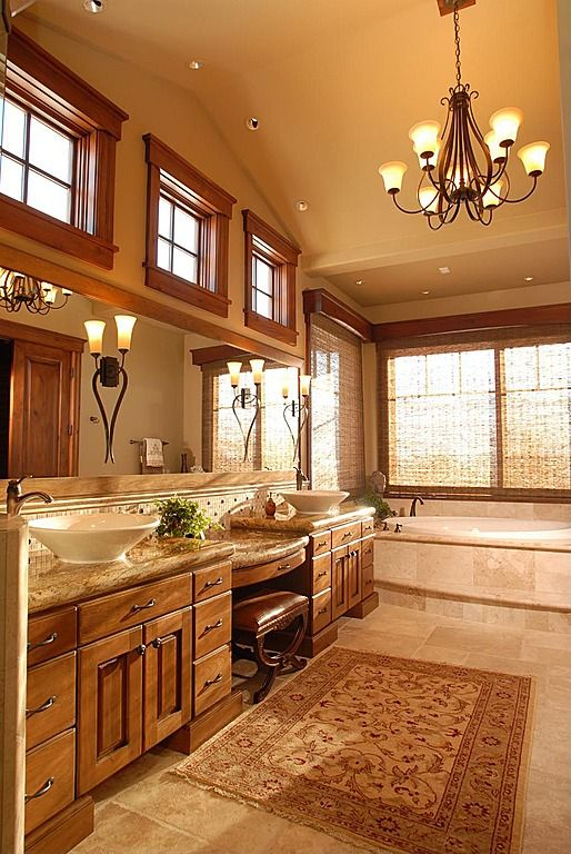 Rustic master bathroom find more amazing designs on for Bathroom ideas zillow