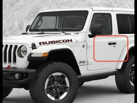 How To Remove Jeep Wrangler Jl 2018 Door Handle Youtube Wrangler Jl Jeep Jeep Jl