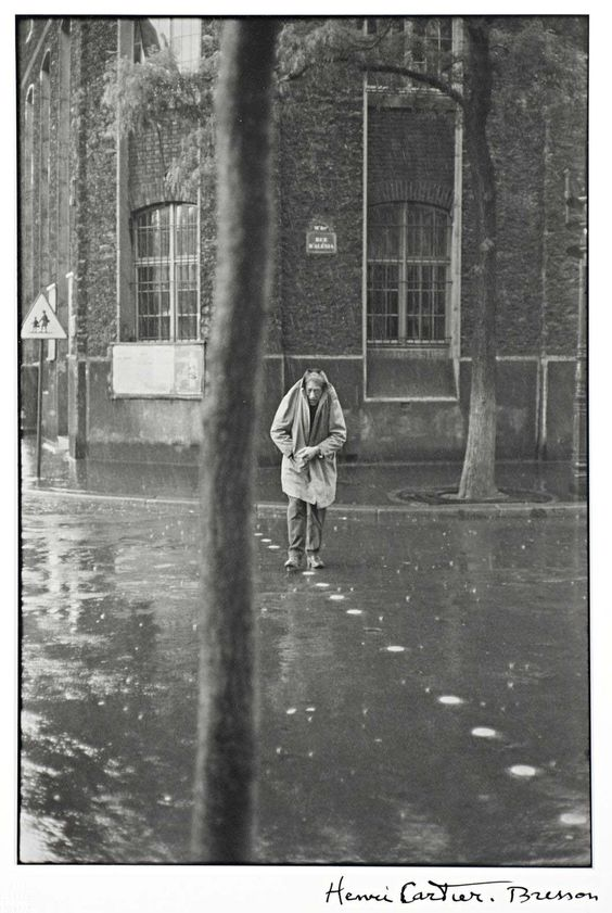 Albert Giacometti, Paris 1961 by Henri Cartier-Bresson