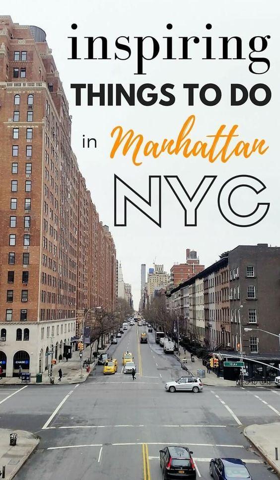 8 inspiring things to do in manhattan new york new york for Fun things to do in manhattan