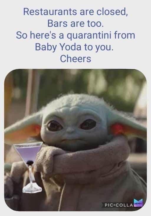 Pin By Liberty Rock On Baby Yoda In 2020 Yoda Meme Star Wars Memes Star Wars Humor