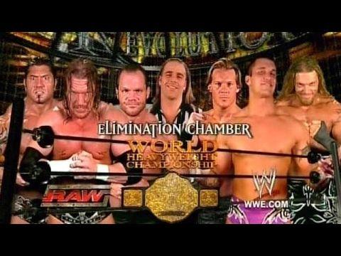 Wwe Greatest Elimination Chamber Match Youtube Wwe World Heavyweight Championship Match