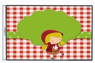 Fazendo a Propria Festa: Chapeuzinho Vermelho