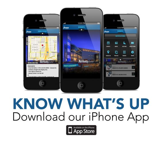 Amway Center App