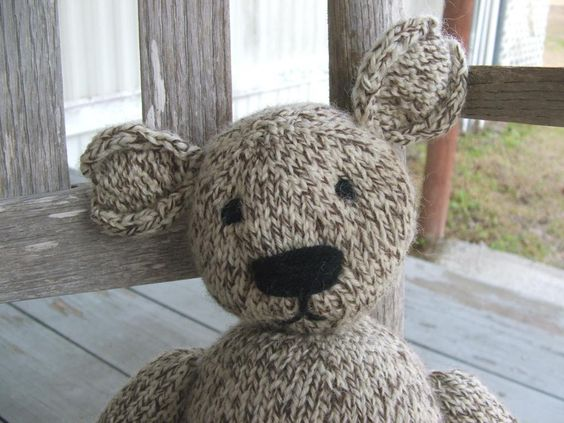 The Teddy Bear That Saved Me -  pattern on Craftsy.com