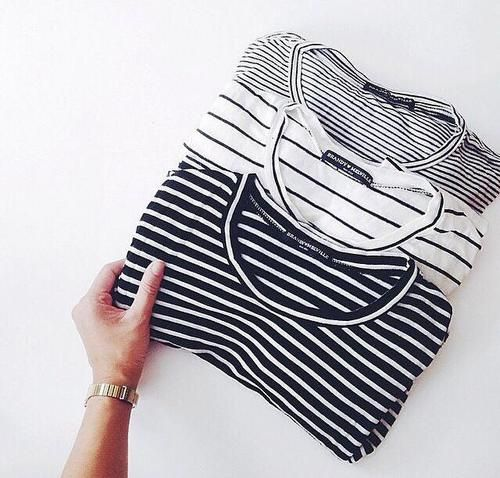OWN THREE DIFFERENT STYLES OF BRETON STRIPED SHIRTS - 6/5/15   @andwhatelse