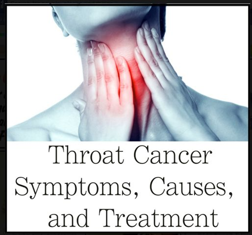 Symptoms and treatment of cancer