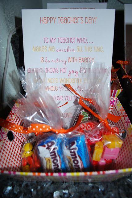 gallamore west: A Sweet Little Teacher Appreciation Idea ...