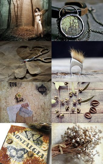 A haunting and beautiful collection of truly unique finds. Very earthy and magical--Pinned with TreasuryPin.com