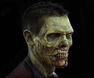 Sfx makeup. Zombie