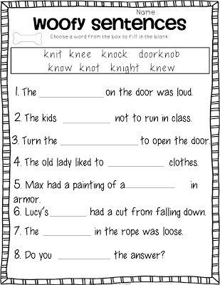 3rd Grade Phonics Worksheets - Delibertad