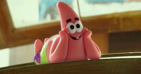 "The best Patrick moments from the ""Spongebob Squarepants: Sponge Out of Water"" trailer. Patrick is our favorite! See more GIFs of him HERE!"