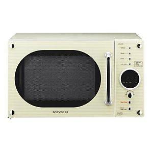 microwaves ovens and cream on pinterest. Black Bedroom Furniture Sets. Home Design Ideas