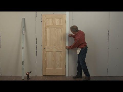 Beginners Learn How To Install A Door In 4 Minutes Without Shimming Youtube Prehung Interior Doors Wood Doors Interior Interior Doors For Sale