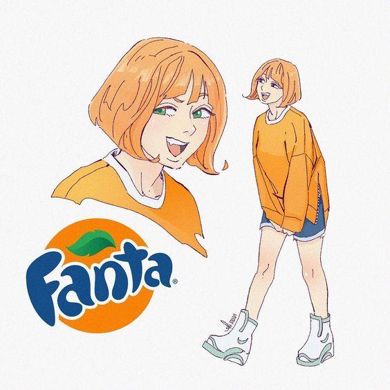 Fanta girl