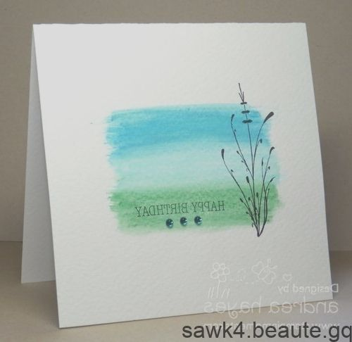 Tres Jolie Carte Avec Des Crayons Aquarelle De Lorraine Stylos