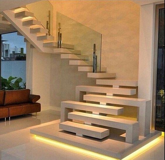 Escada vazada