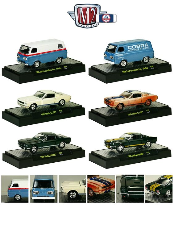 M2 Machines Hobby release 1 2010 1970 ford mustang: Detroit Muscle Release 29 Complete Set of 6 | 1965...