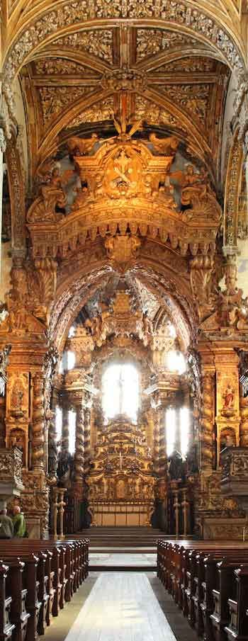 Church of São Francisco ~ UNESCO World Heritage Site ~ Gothic monument in Porto, Portugal