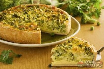 Receita de Torta integral de brócolis em receitas de tortas salgadas, veja essa e outras receitas aqui!