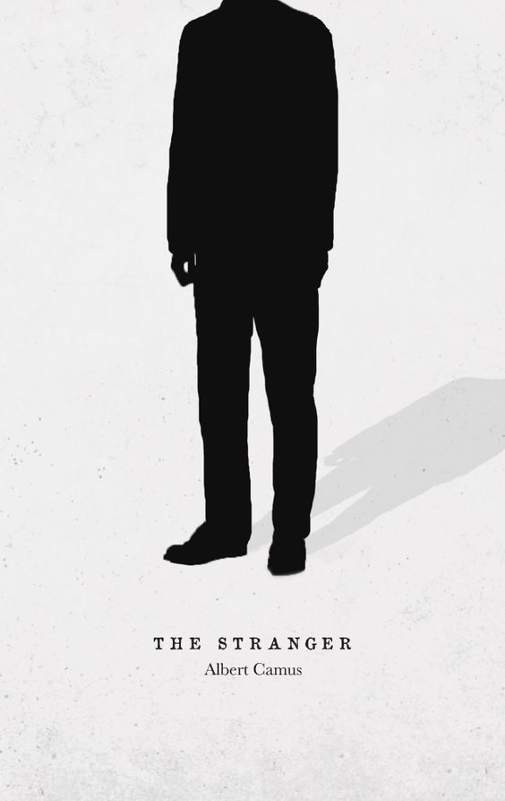 The Stranger - A book cover for Albert Camus' novel on Behance