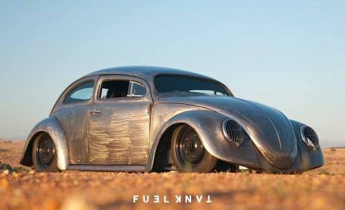 Roof Chopped Bare Metal 1965 Volkswagen Beetle Via Fuel Magazine Volkswagen Beetle Volkswagen Volkswagen Cc