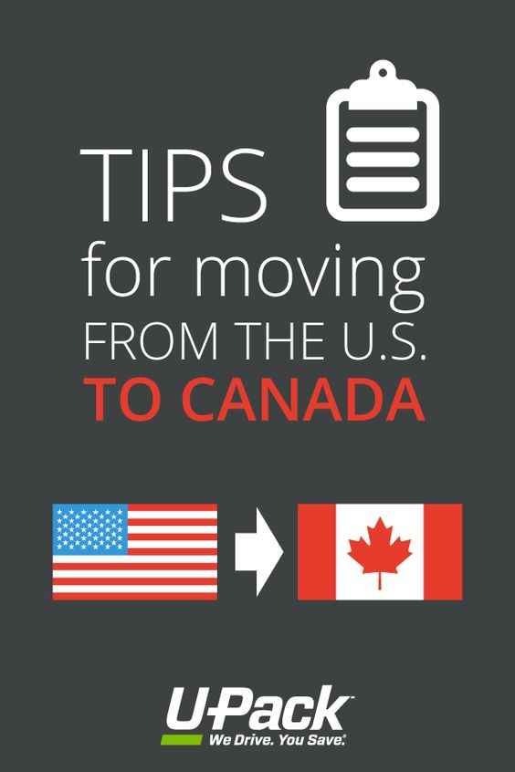 Upack Quote Moving To Canada From The U.smake Sure You Read This Helpful .