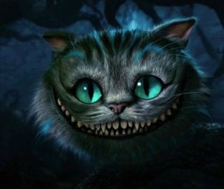 TIM BURTON'S ALICE IN WONDERLAND - cheshire cat