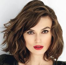 Keira Knightly haircut? I think this makes her look like some one else.  I don't recall her hair being this thick naturally.  Though I do like this cut.