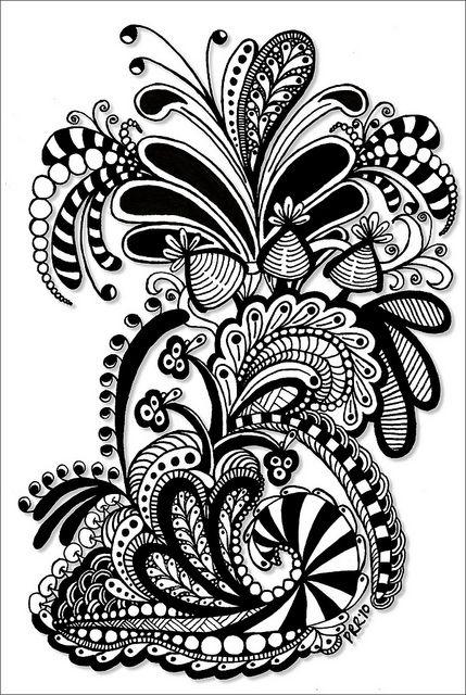 Zentangle zentangles and crewel embroidery on pinterest