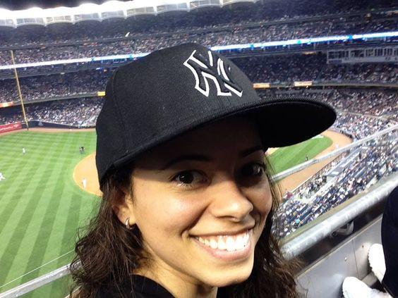 My night at the Yankees'. It was awesome!