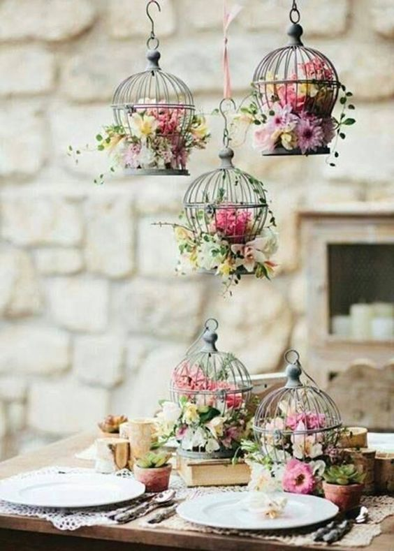 table de mariage romantique charme idées mariage deco mariage mariage ...