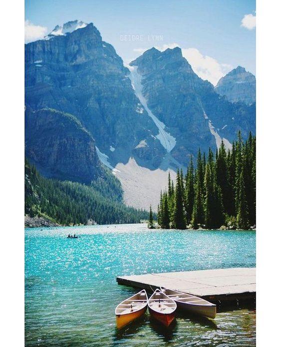 Le Canada, lune de miel, voyage de noces