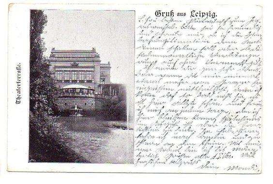 Leipzig  1903 gelaufen
